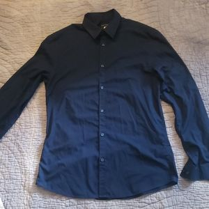 H&M Navy button down